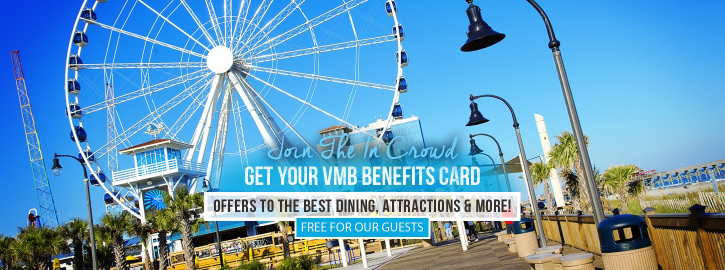 vmb benefits card at hotel blue