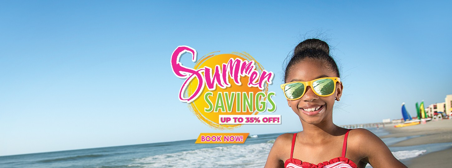 summer savings at hotel blue in myrtle beach