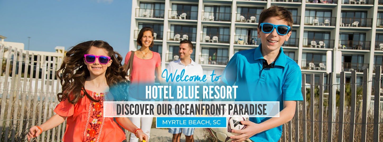 welcome to hotel blue resort