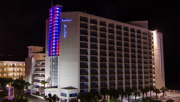 Myrtle Beach Hotel Turning Red, White & Blue For Veterans Day