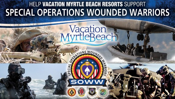 Vacation Myrtle Beach Gives Back: Special Operations Wounded Warriors
