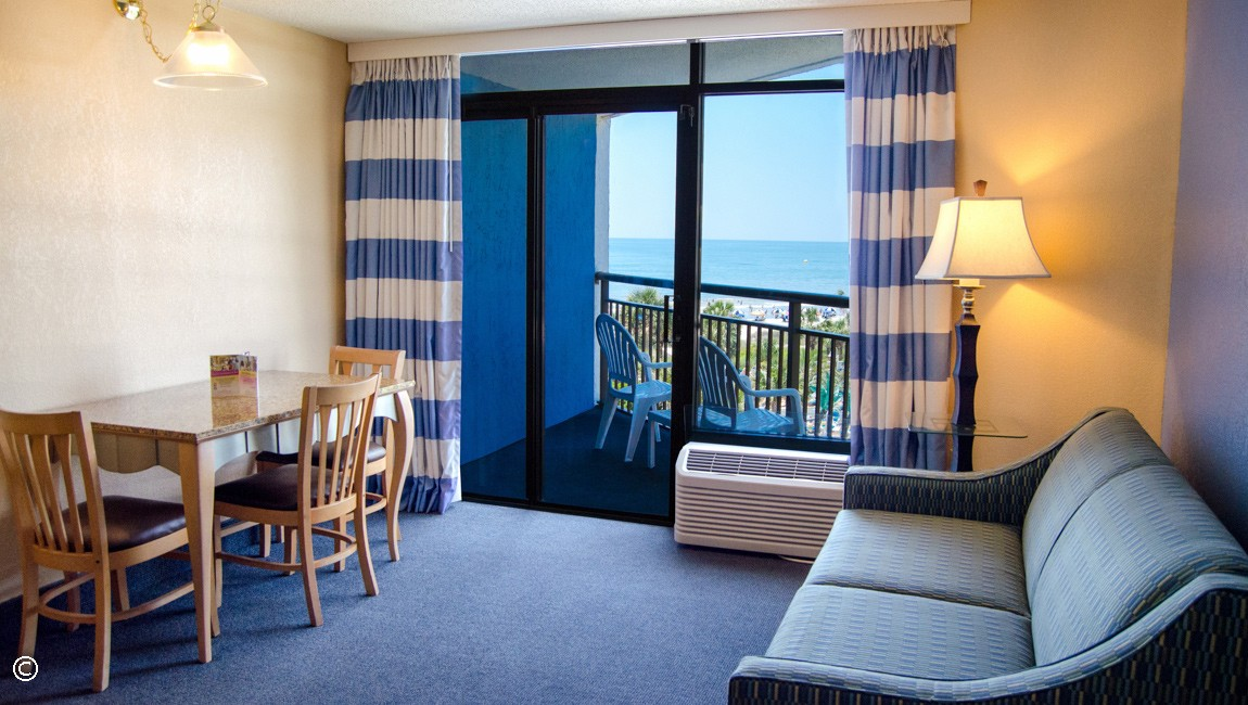 Ocean View 2 Bedroom Suite In Myrtle Beach