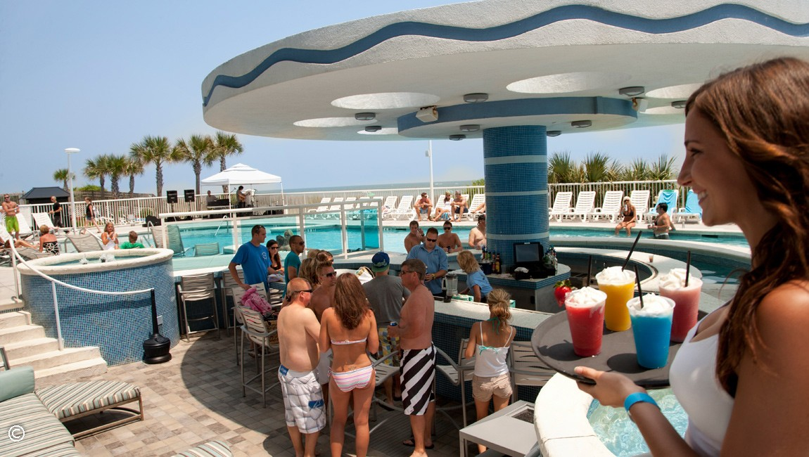 Myrtle Beach Swim Up Bar