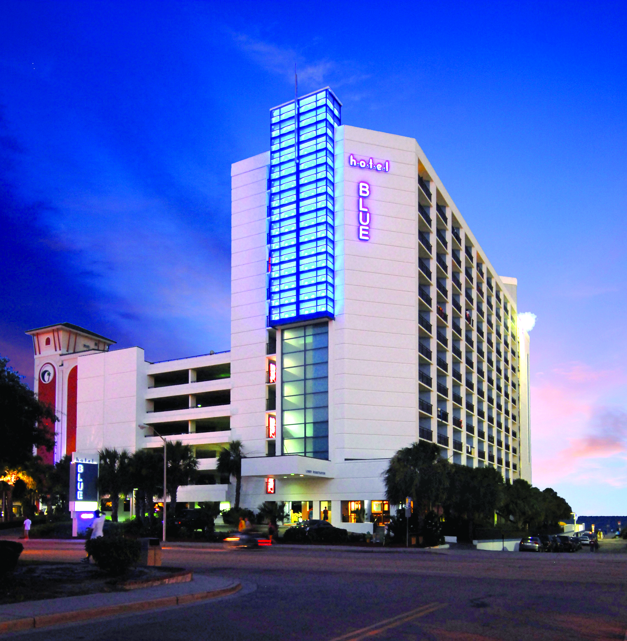 hotel BLUE Resort Information, Myrtle Beach, SC