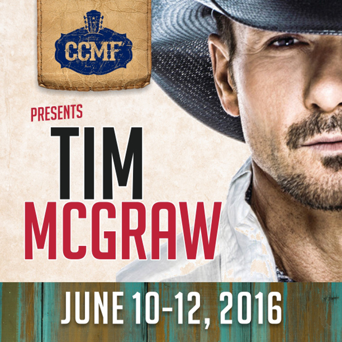 Tim McGraw at the Carolina Country Music Fest in Myrtle Beach
