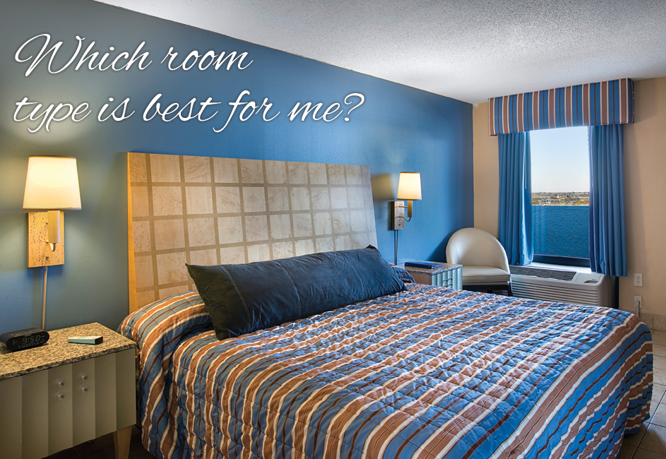 Which Room Type is Best For Me at hotel BLUE Myrtle Beach?